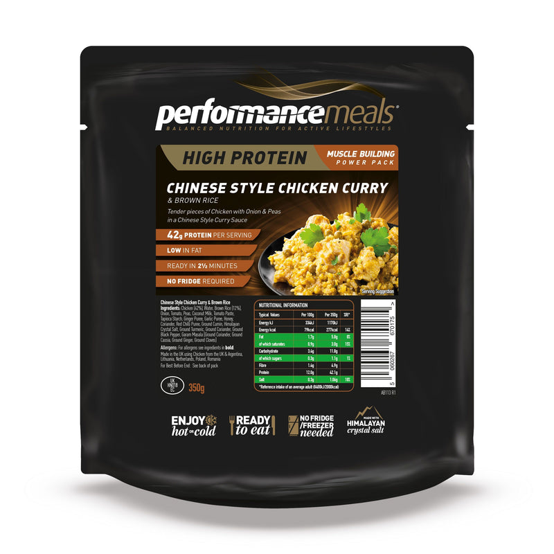 Performance Meals 350g Chinese Chicken Curry