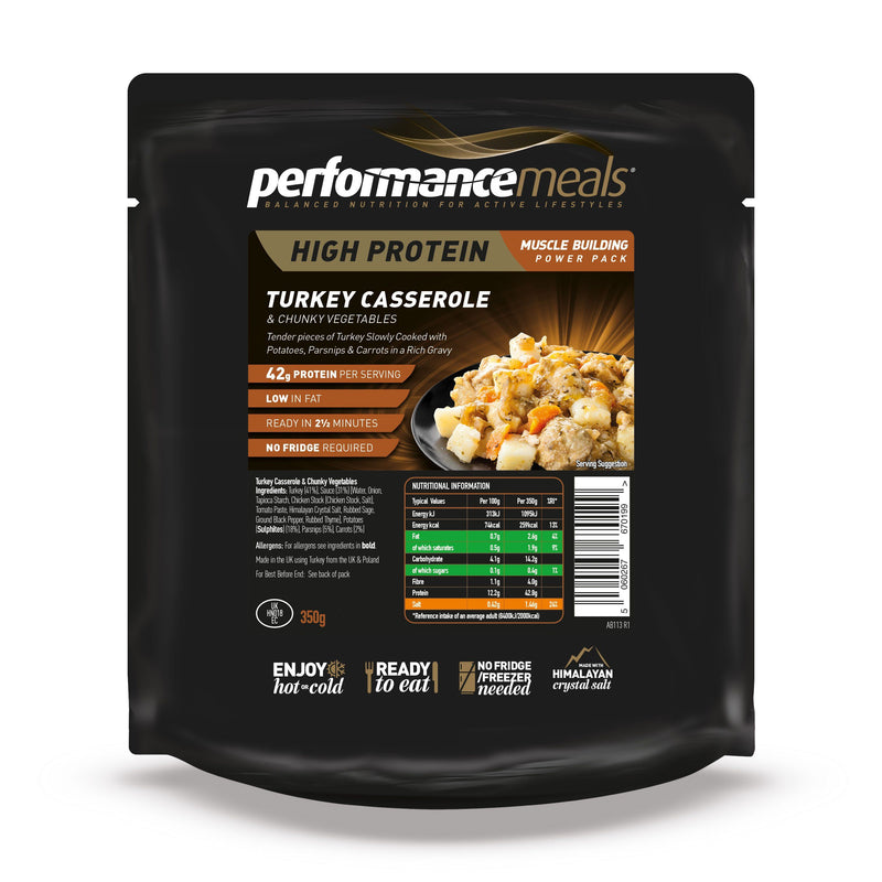 Performance Meals 350g Turkey Casserole