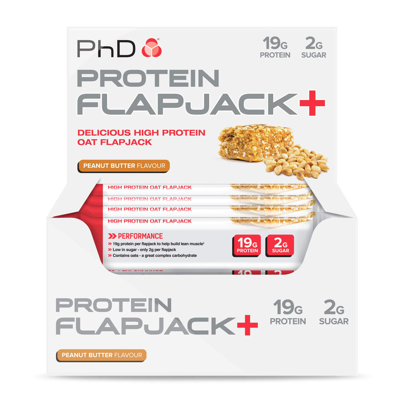 PhD Nutrition Protein Flapjack 12 x 75g