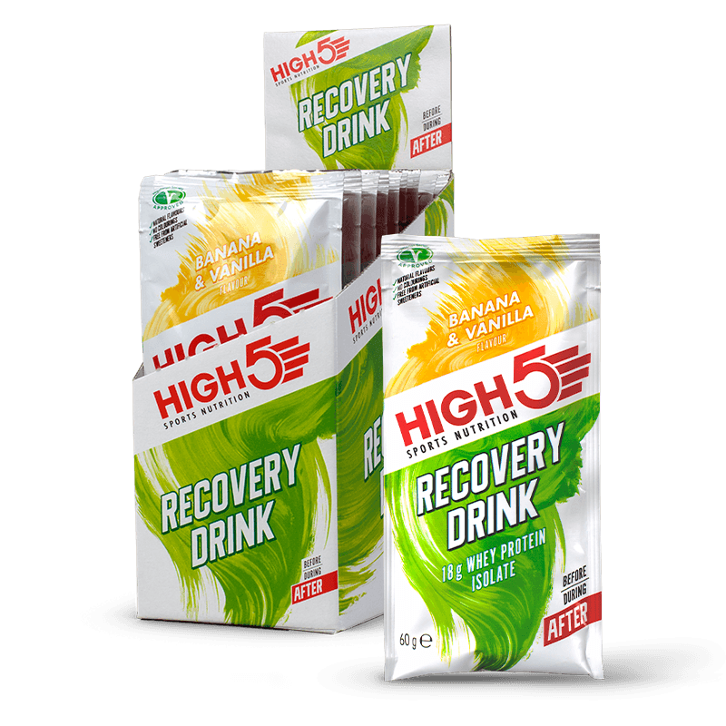 HIGH5 Recovery Drink Sachets 9 x 60g