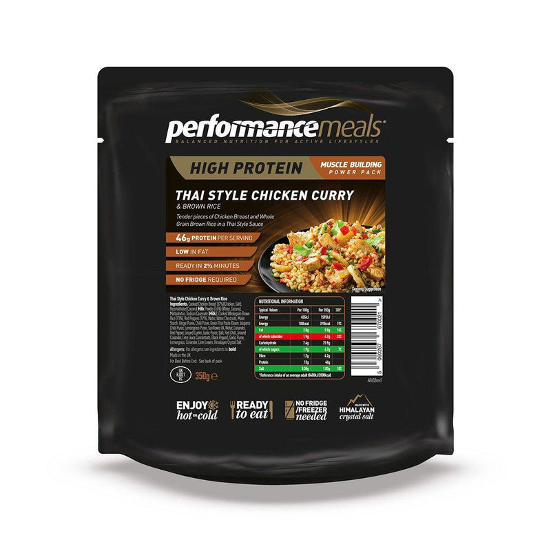 Performance Meals 350g Thai Style Chicken