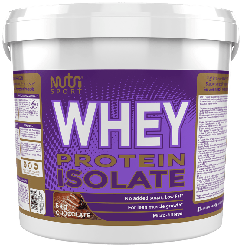 Nutrisport Whey Isolate 5kg