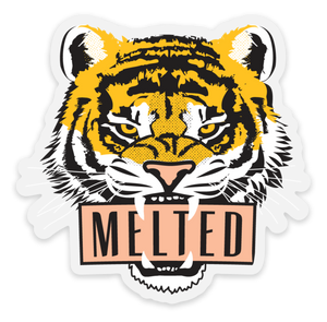 Melted Tiger Sticker