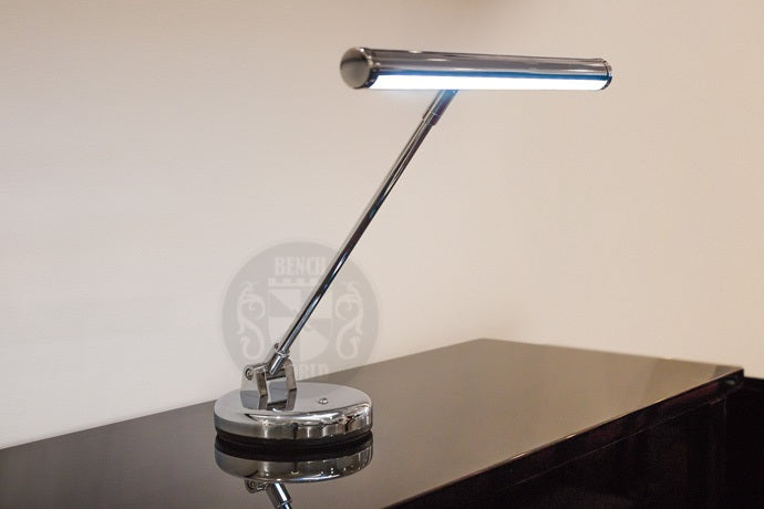 Gemini LED Lamp For Upright Piano In Chrome $150.00