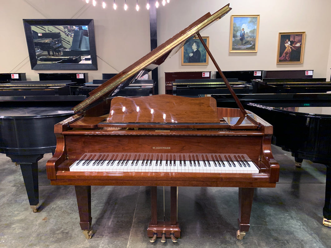 W. Hoffman By C. Bechstein 2009 6'1″ Grand Piano In High Polish Walnut