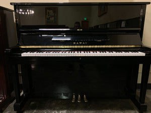 KAWAI BS10 48″ Upright Piano In High Polish Ebony