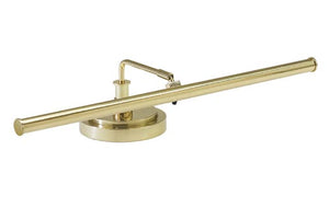 PLED101-61 Piano Lamp In Polished Brass