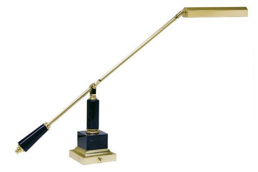 PS10-190M Piano Lamp In Black With Brass