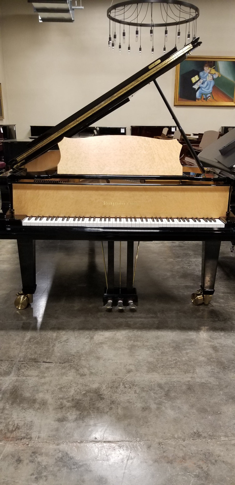 Steingraeber | 2008 | E-272 9 FT Concert Grand Piano| Custom High Polish Ebony | $149,000
