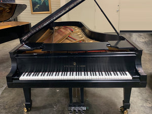 "Restored Steinway and Sons ""D"" Concert Grand Piano Serial Number 172158 in Satin Ebony"