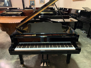 Used Yamaha G3 Grand Piano Serial Number 3340222 in High Polish Ebony