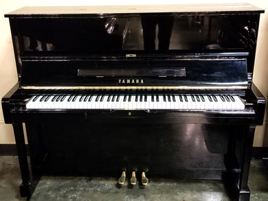 Used Yamaha U1 Upright Piano In High Polish Ebony