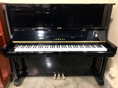 Used Yamaha U3 Upright Piano in High Polish Ebony