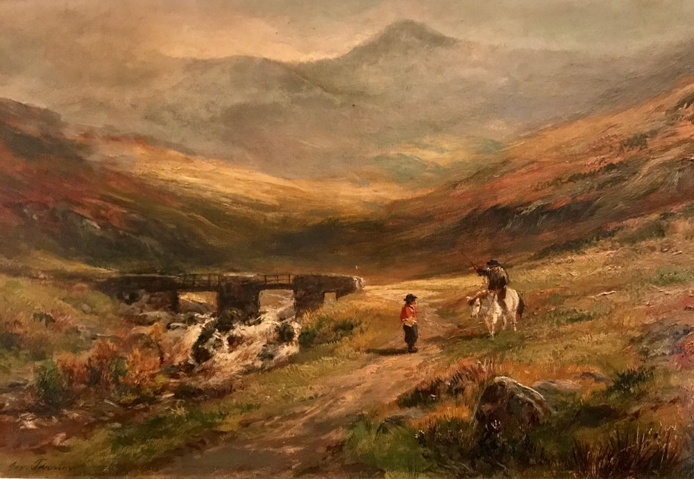 Snowdon from Pont-y-Garth (Northern Whales) - George Turner II
