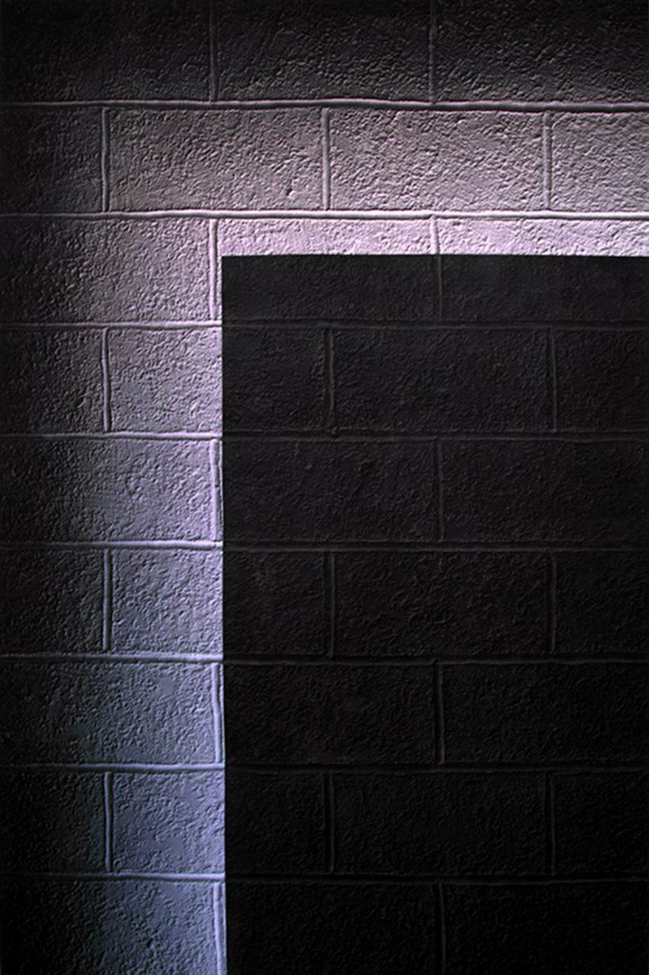 A cinder block wall that wants to shine - Nolan Haan