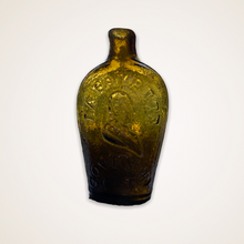 "Load image into Gallery viewer, ""Lafayette"" And Bust - Liberty Cap Portrait Flask"