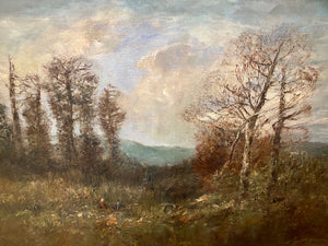 Repose in a Clearing - Joseph Jefferson