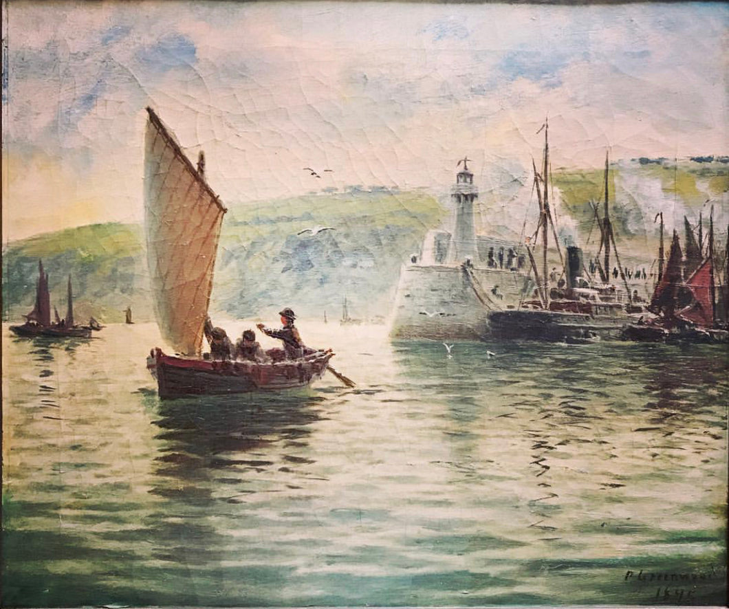 Leaving Harbour - George Parker Greenwood