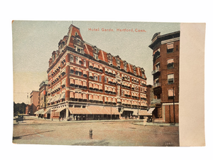 Hotel Garde, Hartford Connecticut. Unused Postcard Circa 1907-1915