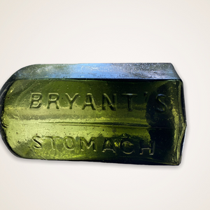 Bryant's Stomach Bitters - Shipwreck Find