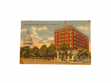 Load image into Gallery viewer, Hotel Commodore. Union Station Plaza, Washington, D.C. Postcard Sent Jan. 1957