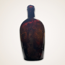 "Load image into Gallery viewer, ""Liberty"" Eagle - ""Westford / Glass / Co"" Historical Flask"