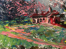 Load image into Gallery viewer, Pink Cabin in the Woods 1989 - Morris Katz