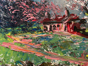 Pink Cabin in the Woods 1989 - Morris Katz