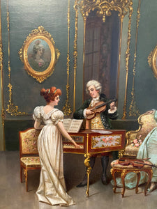 The Music Room - Frederick Lenditz