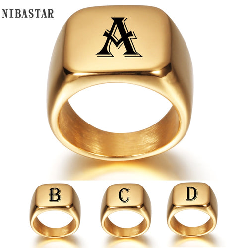 2020 New Initial A to Z Alphabet Ring
