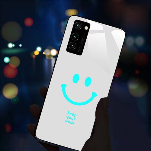 Smile LED Flash Call Light Case For Samsung Galaxy S20 Ultra S8 S9 S10 Plus Note 9 8 M10 M20 30 J7 Pro Plus M30S - Buy 2 Get 1 Free