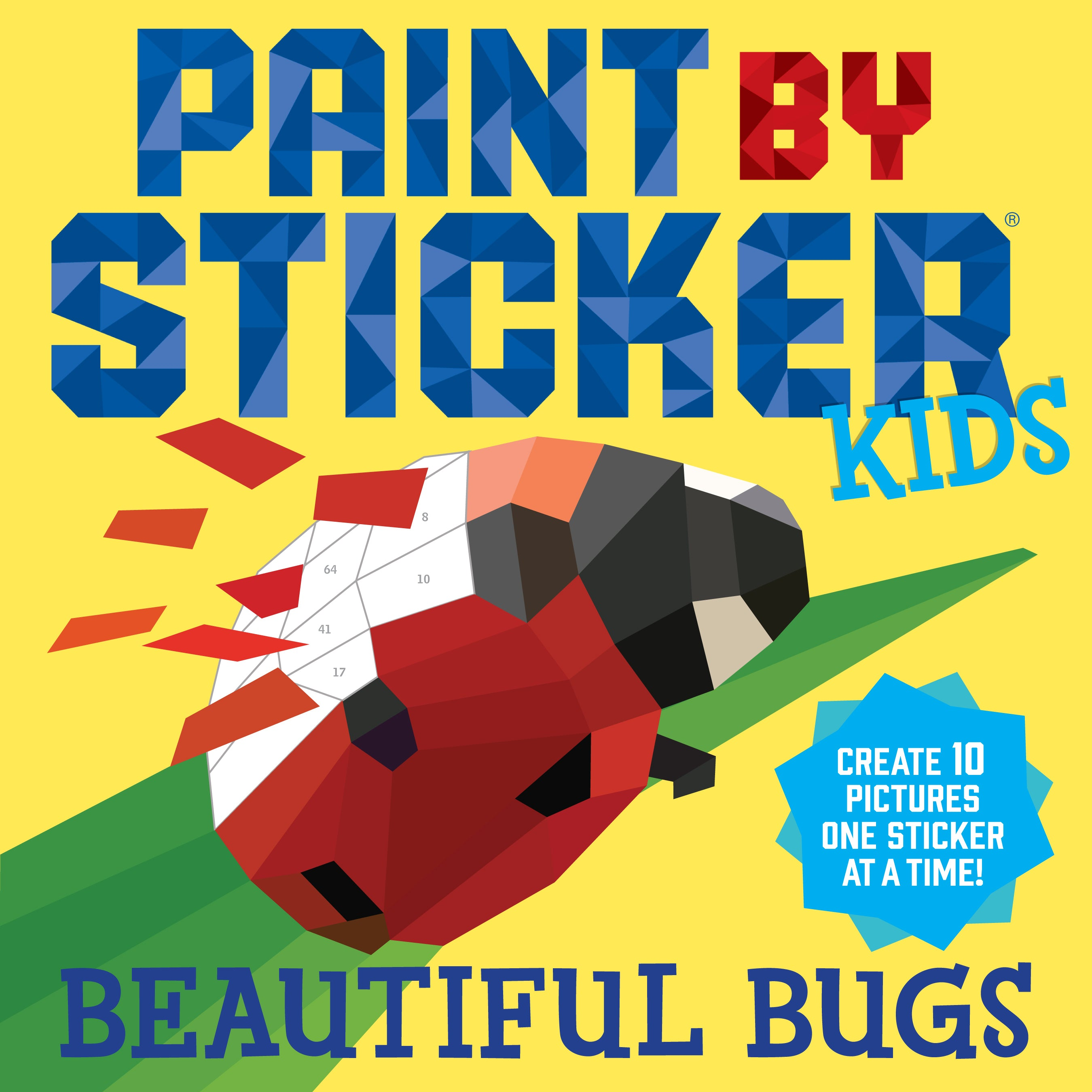 Paint By Sticker Kids - Beautiful Bugs