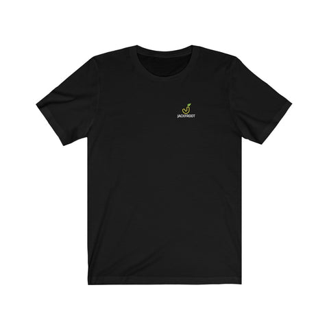 JACKFROOT LEFT CHEST STACKED COLORED LOGO T-SHIRT