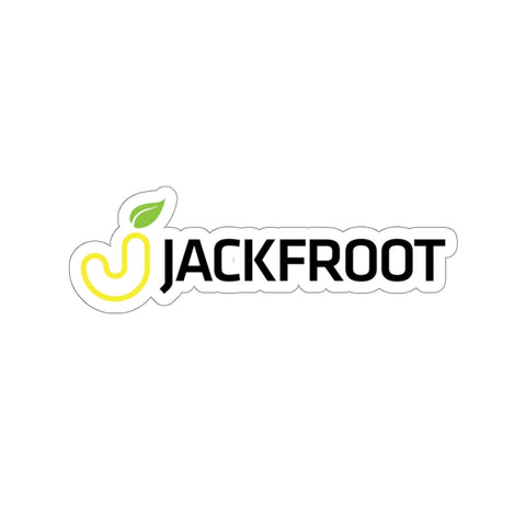 JACKFROOT OFFICIAL LOGO KISS-CUT STICKER