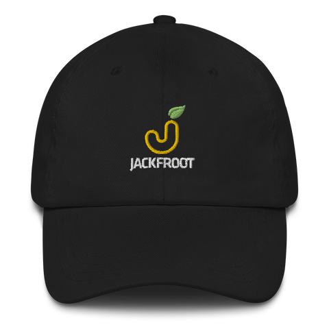 JACKFROOT OFFICIAL STACKED COLOR LOGO CLASSIC DAD HAT
