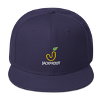 JACKFROOT OFFICIAL STACKED COLOR LOGO SNAPBACK HAT