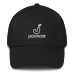 JACKFROOT OFFICIAL STACKED WHITE LOGO DAD HAT