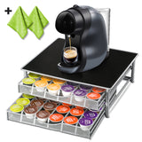 Masthome Deluxe Double Layer Coffee Storage  Drawer  Holder for Espresso K CUP Capsules - Masthome®