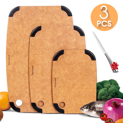 Masthome Organic Wooden Chopping Board Sets - Masthome®