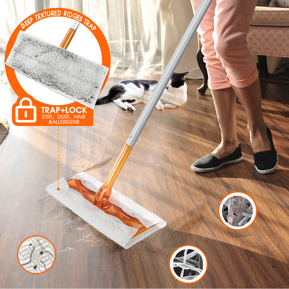 Masthome Flat Mop and Duster Set - Masthome®