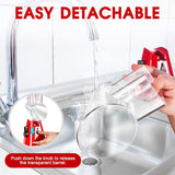 3-in-1 Rotary Cheese Grater Manual Shredder Spiralizer