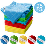 Masthome® 25PCS Microfiber Cleaning Cloth