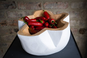 FRUIT BOWL (WHITE)