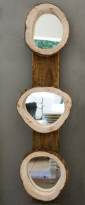MIRRORS IN WOOD FRAME