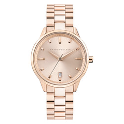 Amelia / 36mm - Rose Gold Ladies Watch | Amanda Walker Time | UK Free Delivery