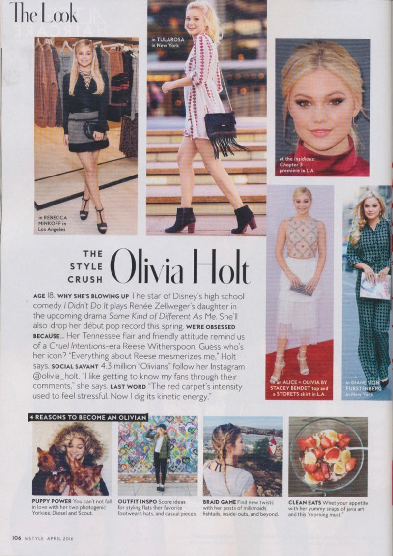 Olivia In InStyle!