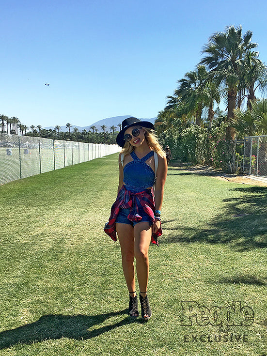 EXCLUSIVE! Olivia Holt's Coachella 2016 Diary