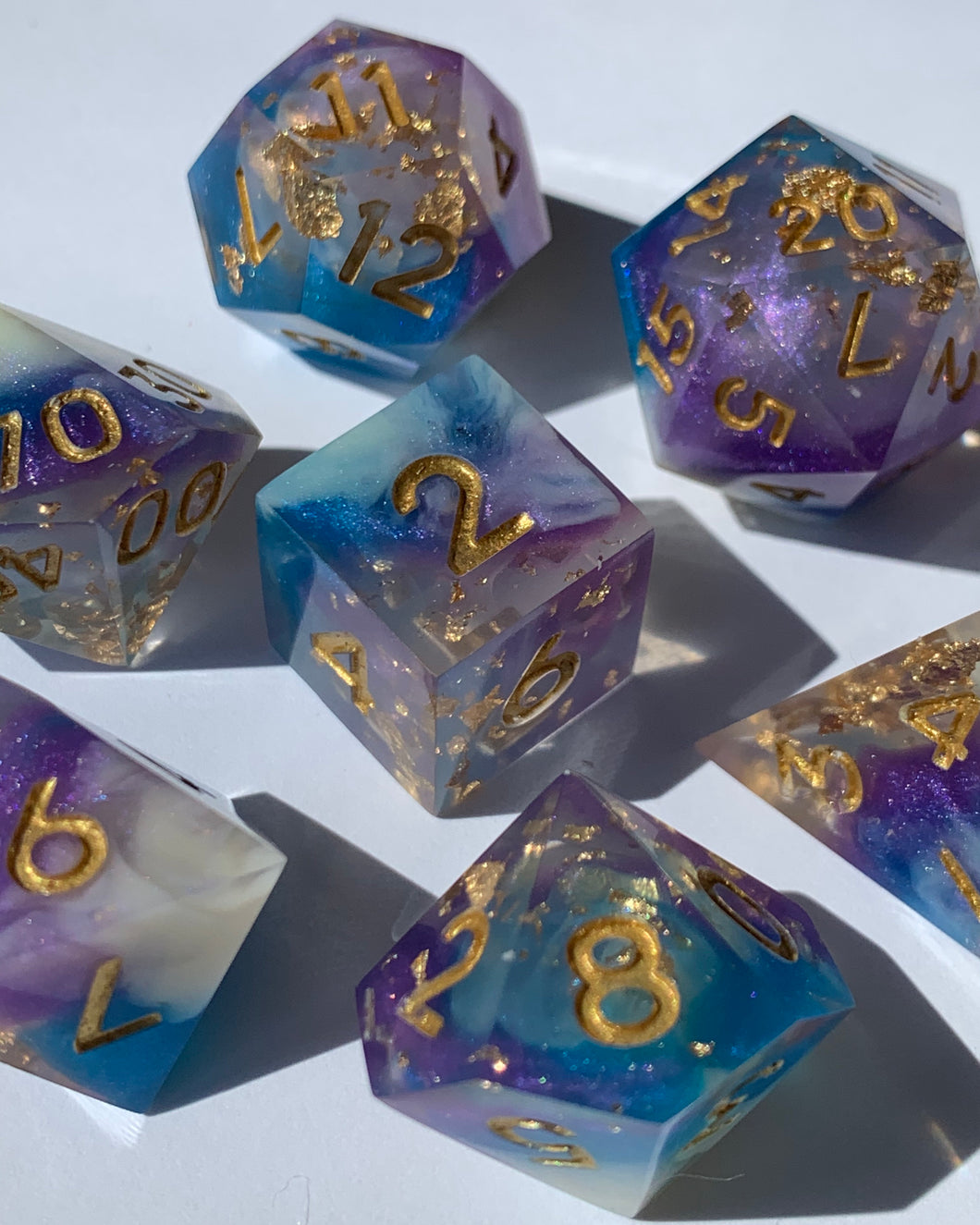 Reverie B-grade 7-Piece Dice Set