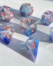 Load image into Gallery viewer, Ocean Eyes 7-Piece Dice Set