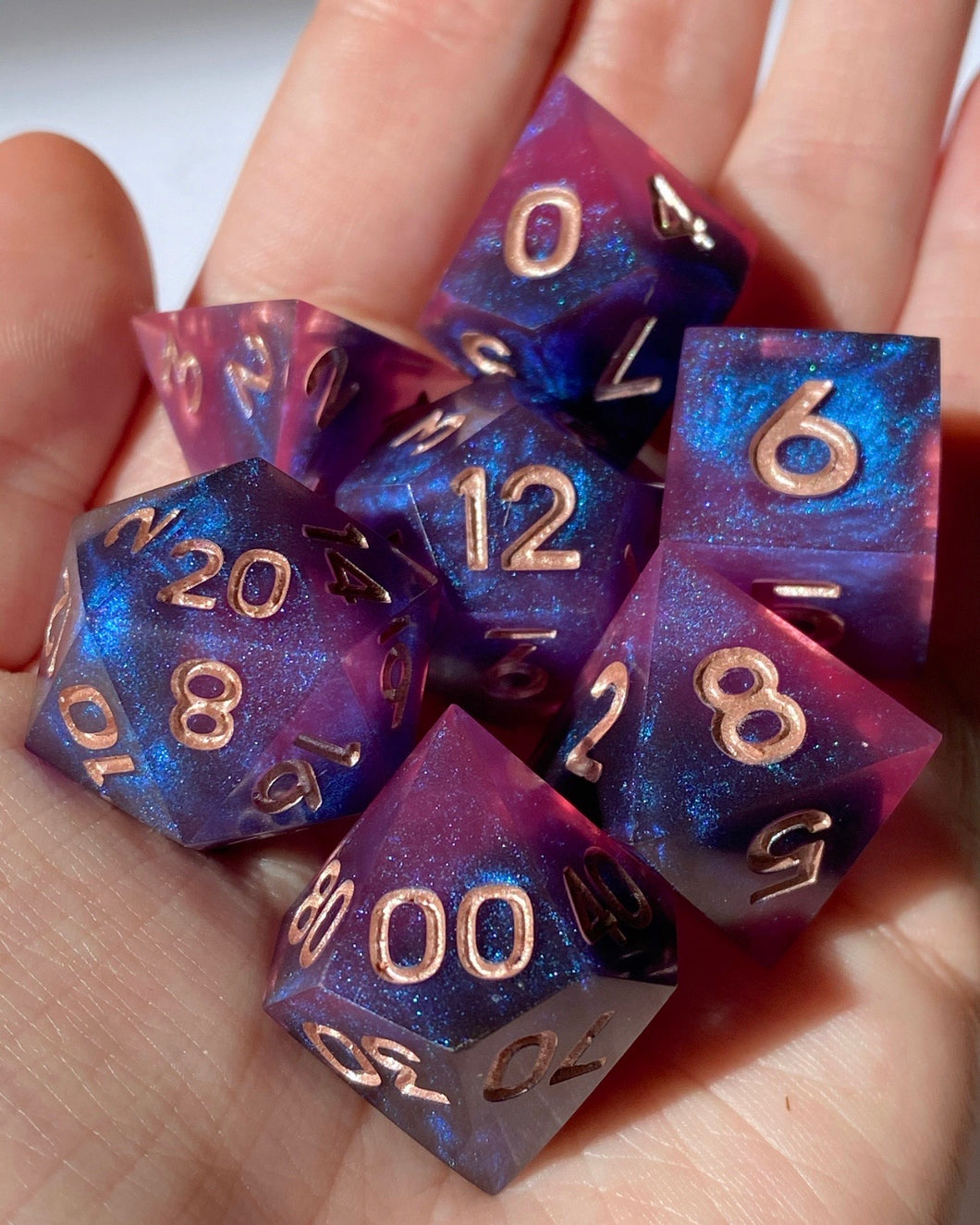 Astral Projection 7-Piece Dice Set